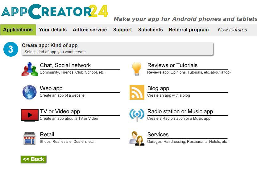 Jenis aplikasi android